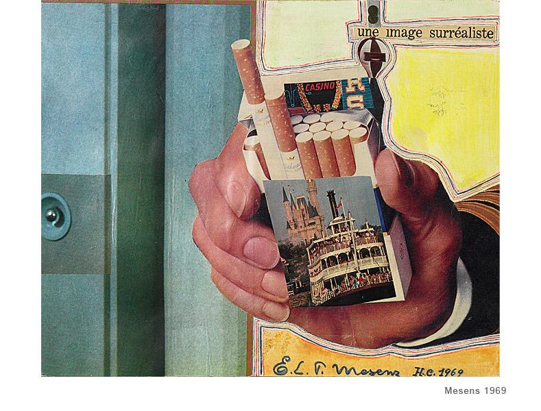 E.T.L. MESENS,UNE IMAGE SURRéALISTE , 1969