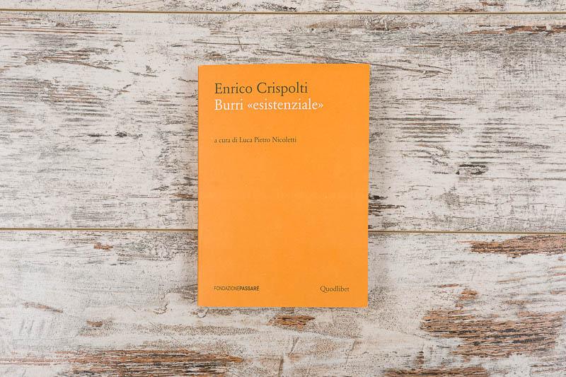 Burri, Enrico Crispolti, Fondazione Passeré, pubblicazione