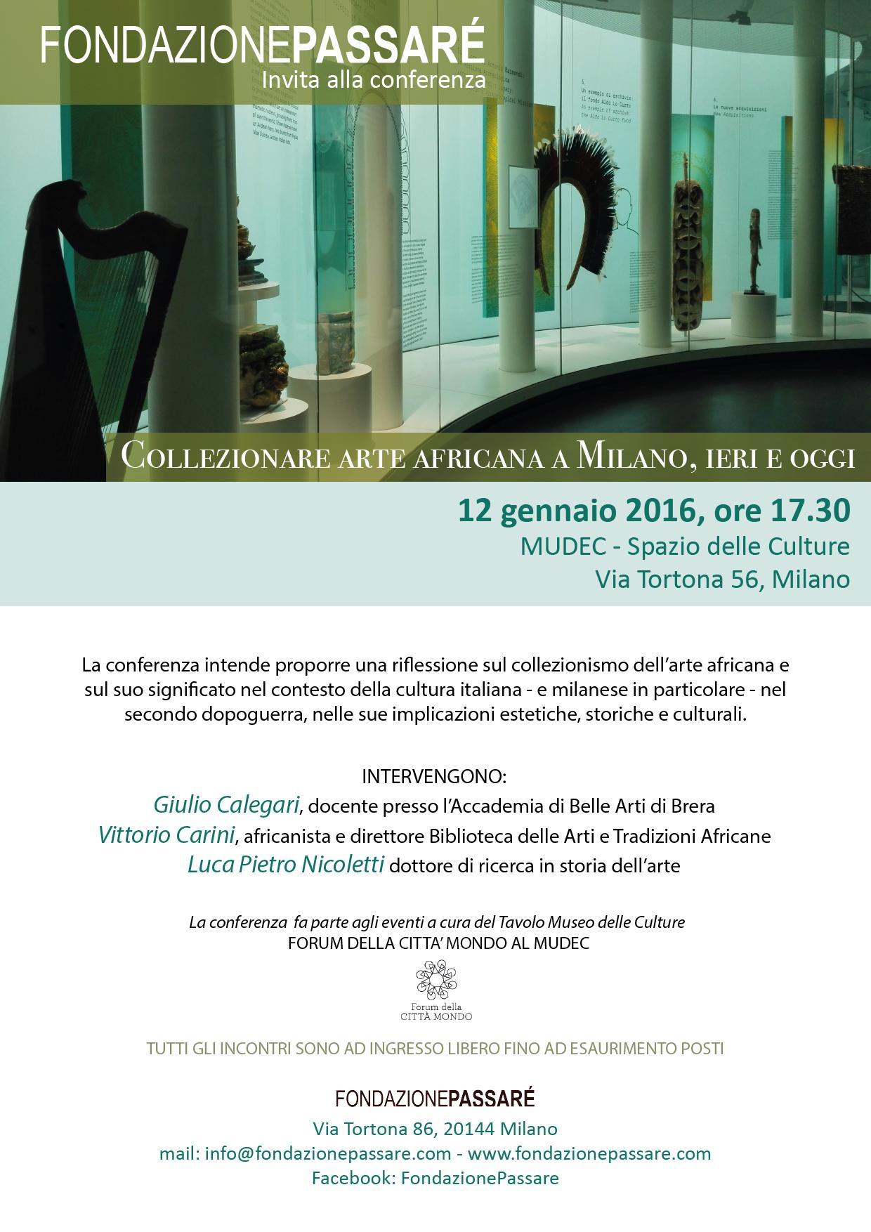 MUDEC, conferenza, Tavole delle culture MUDEC