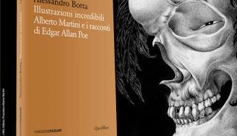 Alessandro Botta, illustrazioni, Alberto Martini, Edgar Allan Poe, saggio, Fondazione Passaré, Biblioteca Passaré, gotico, horror