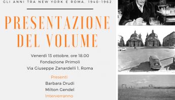 Milton Gendel, Fondazione Primoli, Barbara Drudi, Biblioteca Passaré