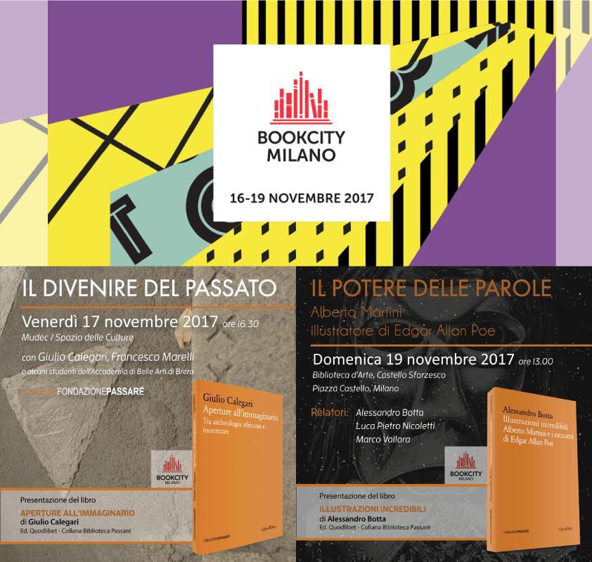 Bookcity, Milano, 2017, Giulio Calegari, Francesco Marelli, Illustrazioni incredibili, Aperture all'immaginario, Alessandro Botta. Luca Nicoletti,