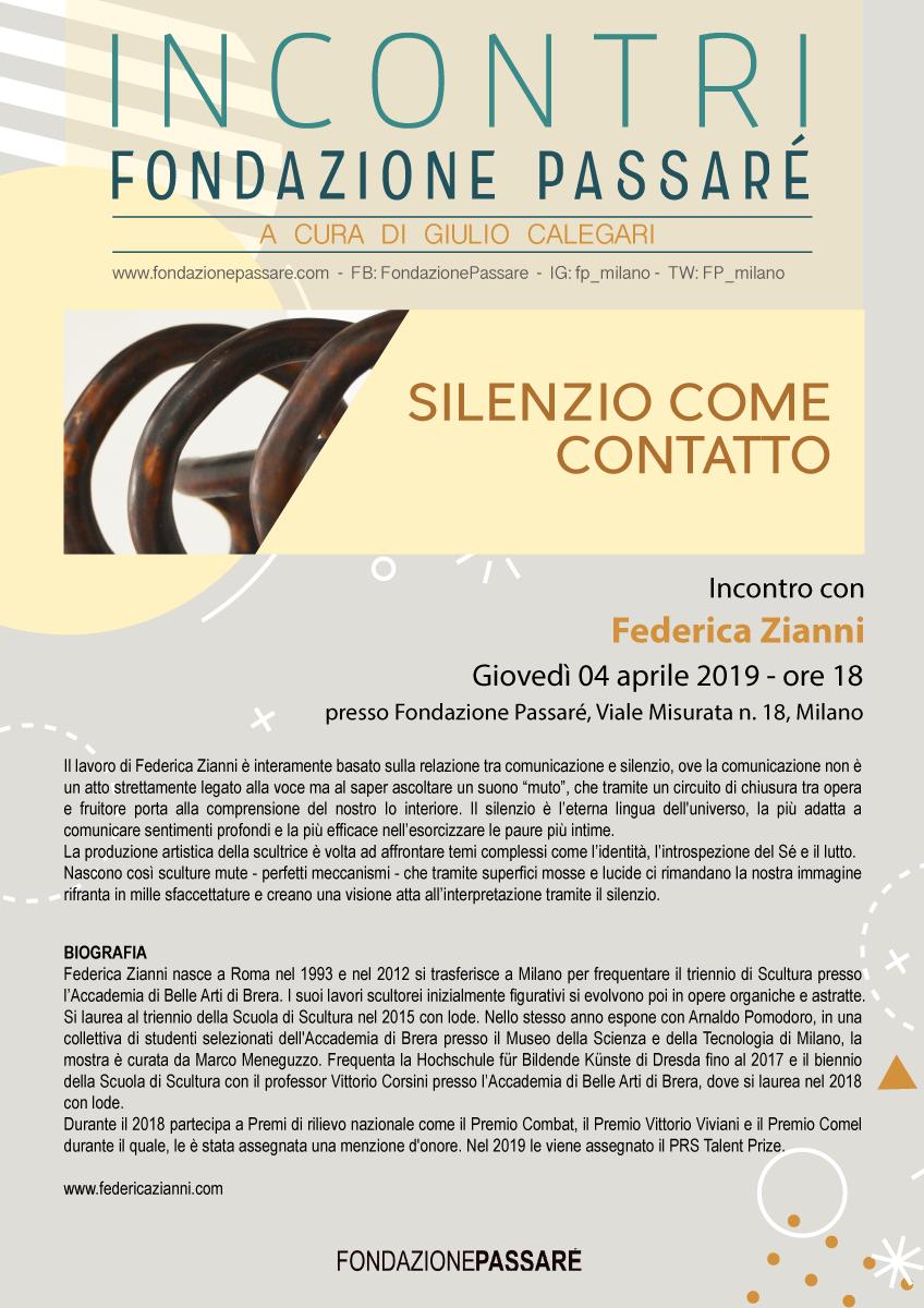 Incontri Passaré, Ernesto Jannini, Giulio Calegari, Federica Zianni, sculture